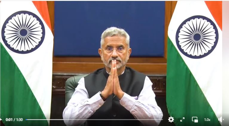 Message from the Hon. EAM, Dr. S. Jaishnkar on Hindi Day
