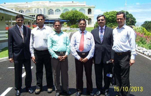 Visit of team of scientists from Department of Space and ISRO to Fiji in connection with the monitoring of the launch from the South Pacific Ocean